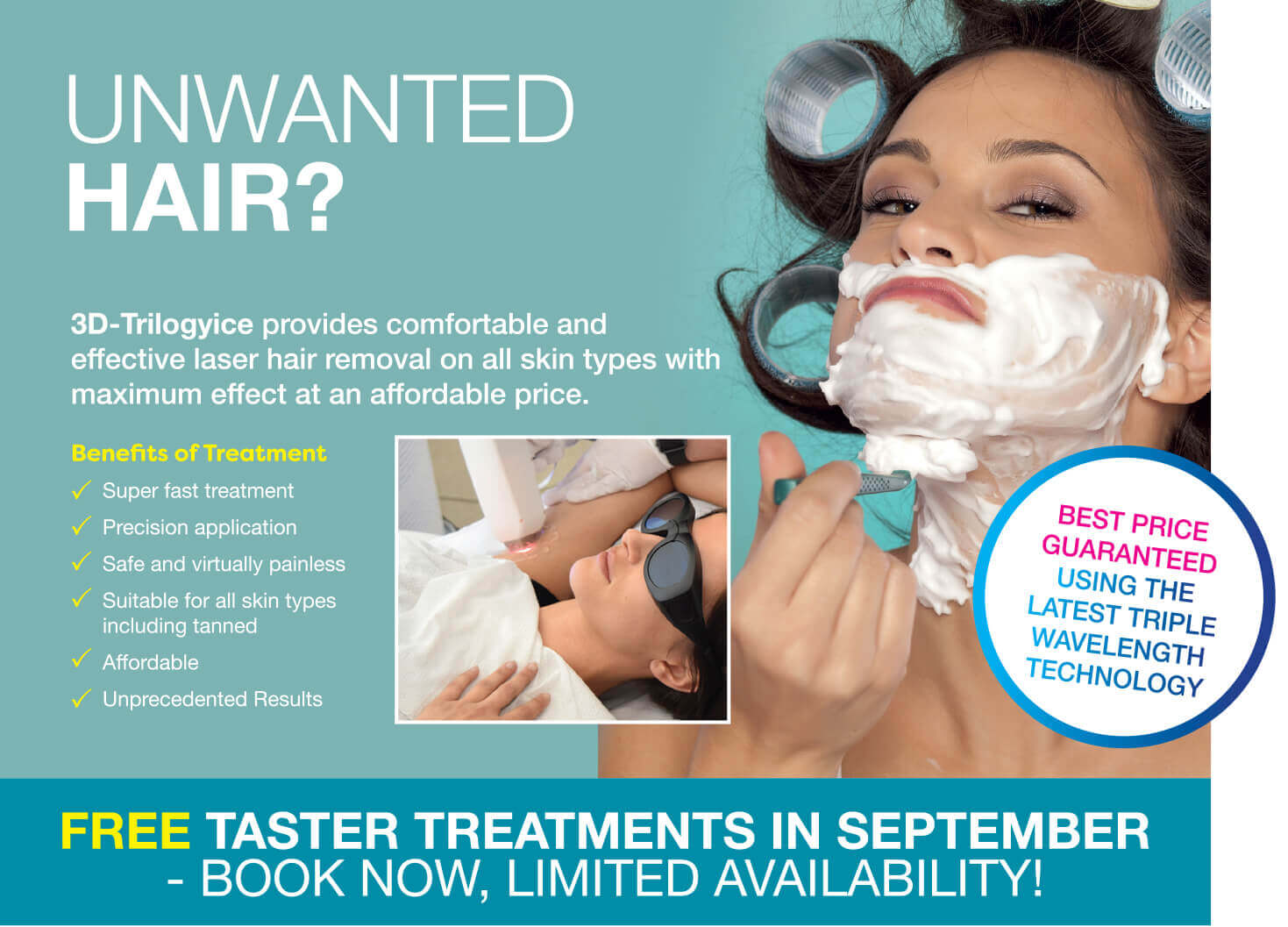 Laser hair removal leamington spa